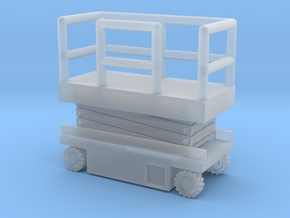 JLG Scissor Lift - Closed Position - Zscale in Smooth Fine Detail Plastic