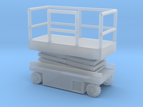JLG Scissor Lift - Closed Position - Nscale in Smooth Fine Detail Plastic