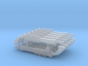 Vostroyan Slim Lasgun x10 in Smoothest Fine Detail Plastic
