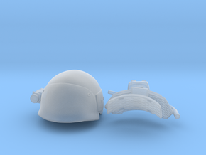 helmet uscm in 1:6 scale in Smooth Fine Detail Plastic