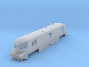 o-148fs-gwr-parcels-railcar-no-17-late in Smooth Fine Detail Plastic