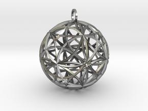 eart4d 8bij0.6 in Natural Silver (Interlocking Parts)