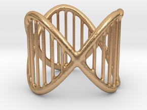 Ring 17 in Natural Bronze (Interlocking Parts)