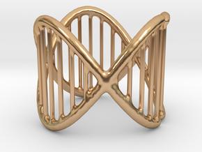 Ring 17 in Polished Bronze (Interlocking Parts)