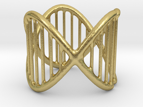 Ring 17 in Natural Brass