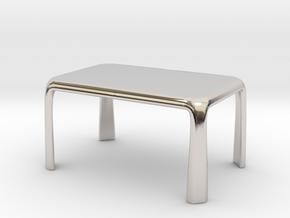 1:50 - Miniature Dining Table  in Platinum