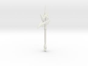 Bone Pick in White Natural Versatile Plastic