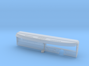 TRXB02-01TRX4 Bronco Main Dash Hi-Def in Smooth Fine Detail Plastic