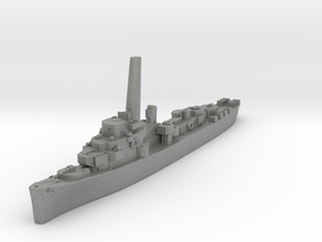 Buckley Class Destroyer Escort (USA) in Gray Professional Plastic