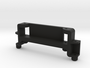 5mm extended conversion mount support in Black Natural Versatile Plastic