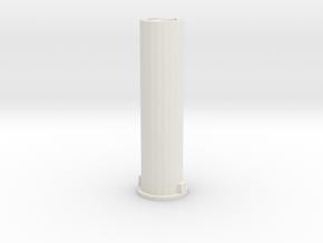 CM-8-S  in White Natural Versatile Plastic