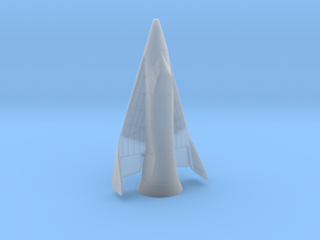 1/100 X-20 Dyna-Soar with launch fairing in Smooth Fine Detail Plastic