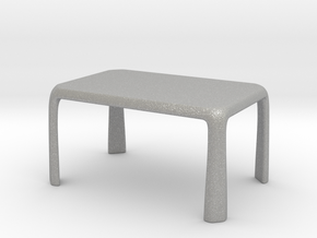 1:25 - Miniature Modern Dining Table  in Aluminum