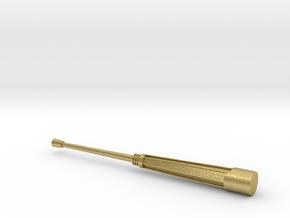 CAÑON VCI-VCPC-PIZARRO-72-proto-01 in Natural Brass