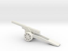 skoda 15 cm Autokanone M. 15 16 1/285 6mm   in White Natural Versatile Plastic
