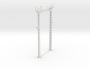 PRR SUB STATION 160 gantry in White Natural Versatile Plastic