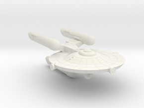 3788 Scale Federation War Destroyer Scout WEM in White Natural Versatile Plastic
