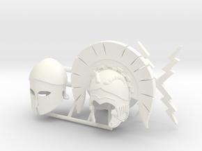 ETHAN 33  in White Processed Versatile Plastic