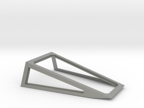 Cockpit Canopy Frame for Revell 1/29 X-Wing in Gray Professional Plastic