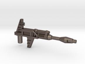Prowl / Bluestreak / Smokescreen Rifle (3mm, 5mm) in Polished Bronzed-Silver Steel: Medium