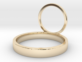 ALTAIR_14 in 14k Gold Plated Brass