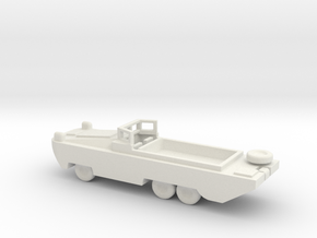 1/200 Scale DUKW in White Natural Versatile Plastic