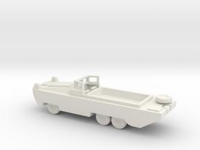 1/200 Scale DUKW in White Natural Versatile Plastic