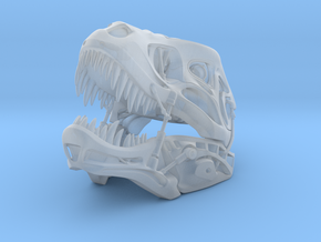 50 mm Long Robo-T-Rex in Smooth Fine Detail Plastic