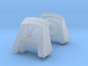 Fleur De Lis Count Dreadbought pads #1 in Smooth Fine Detail Plastic