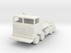 11/200 Scale M757 Tractor in White Natural Versatile Plastic