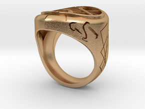 Eye of Agamotto ring in Natural Bronze