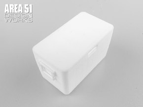 12th Scale Cooler in White Natural Versatile Plastic