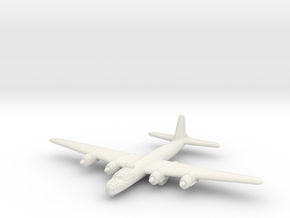 G8N Heavy Bomber (Japan) in White Natural Versatile Plastic