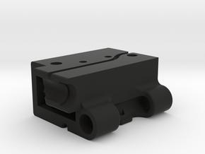 GoPro Audio Adapter Case Style #1 v2 in Black Premium Versatile Plastic