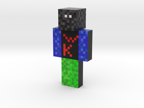 AvengerMiner | Minecraft toy in Natural Full Color Sandstone