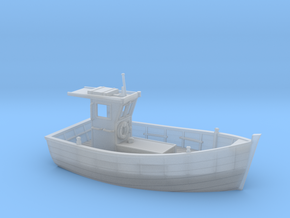 HObat10  - Small boat in Smooth Fine Detail Plastic
