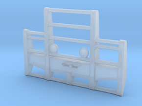 Bull Bar 1/64 Scale in Smooth Fine Detail Plastic