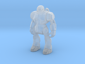 Monster Evil Robot 1-87 Scale in Smooth Fine Detail Plastic