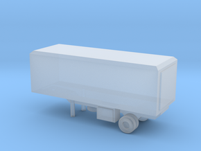 1/200 Scale M119 Trailer in Smooth Fine Detail Plastic