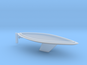 HObat32 - Sailboat in Smooth Fine Detail Plastic
