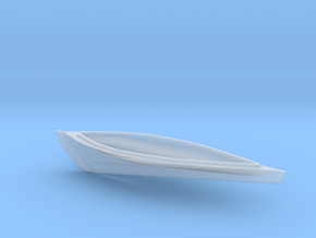 HObat51 - Old fishing boat in Smooth Fine Detail Plastic