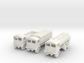 1/200 Scale AEC Matador Set Of 3 in White Natural Versatile Plastic