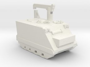1/200 Scale M113 Recovery Vehicle in White Natural Versatile Plastic