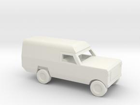 1/200 Scale Dodge Pickup Ambulance M886 in White Natural Versatile Plastic