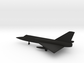 Convair F-106A Delta Dart in Black Natural Versatile Plastic: 6mm