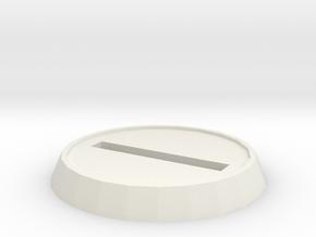 32mm slottah base in White Natural Versatile Plastic