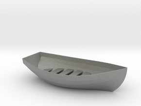 Boat Soap Holder in Gray Professional Plastic