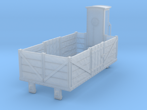 HOe-wagon01 - Dump truck crate in Smooth Fine Detail Plastic