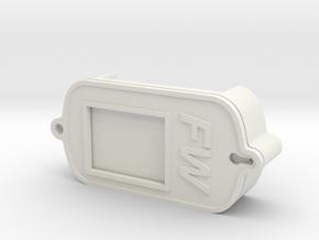 Garmin Forerunner 301/201/101 Speed Run case in White Natural Versatile Plastic