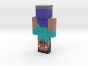 Upside_Down_Steve | Minecraft toy in Natural Full Color Sandstone